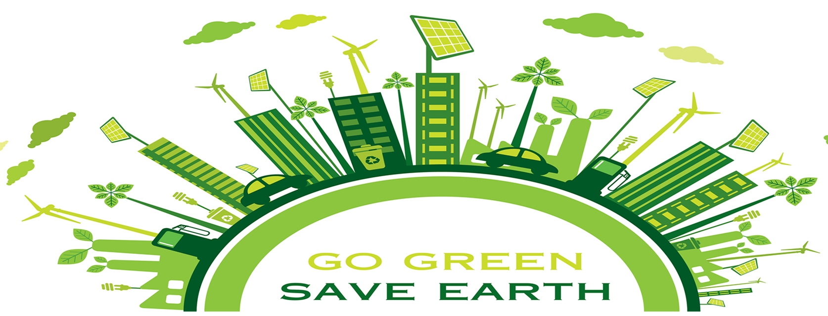 Go green and Save Earth